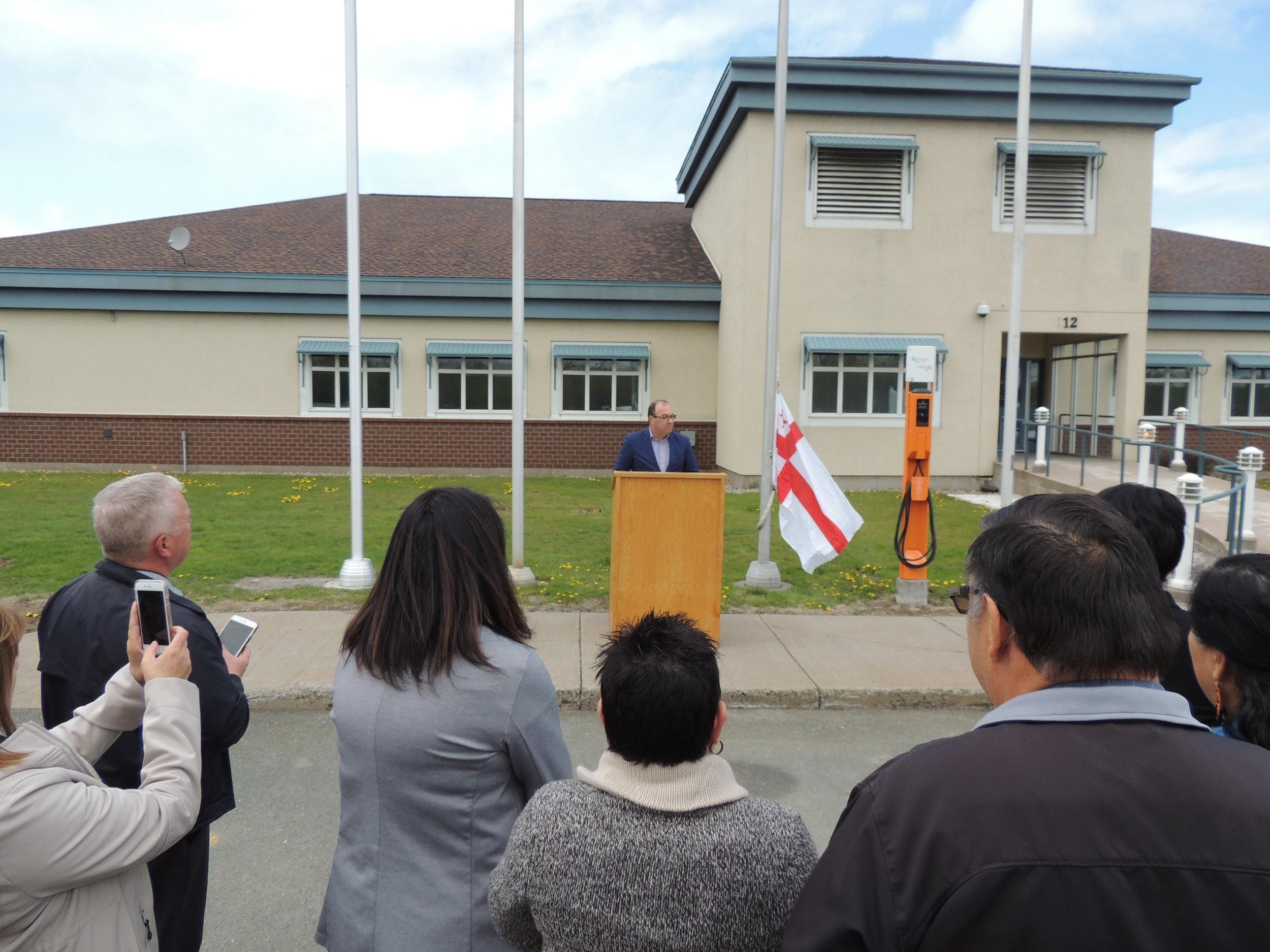 June 4, 2019 Mi_gmaq flag raising  ceremony 024.JPG
