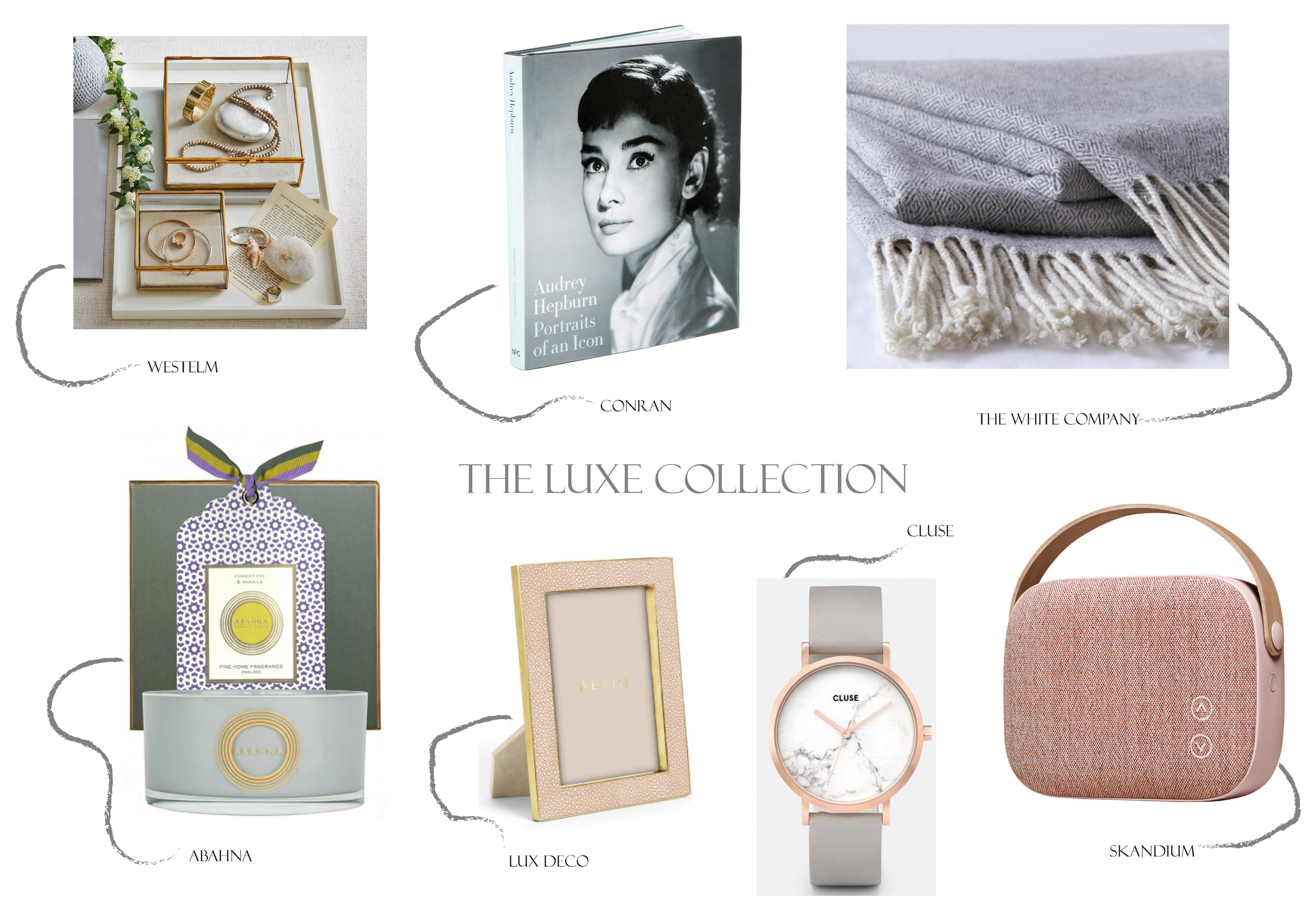 The Luxe Edit for those who crave the finer things in life with a touch of glamour ....