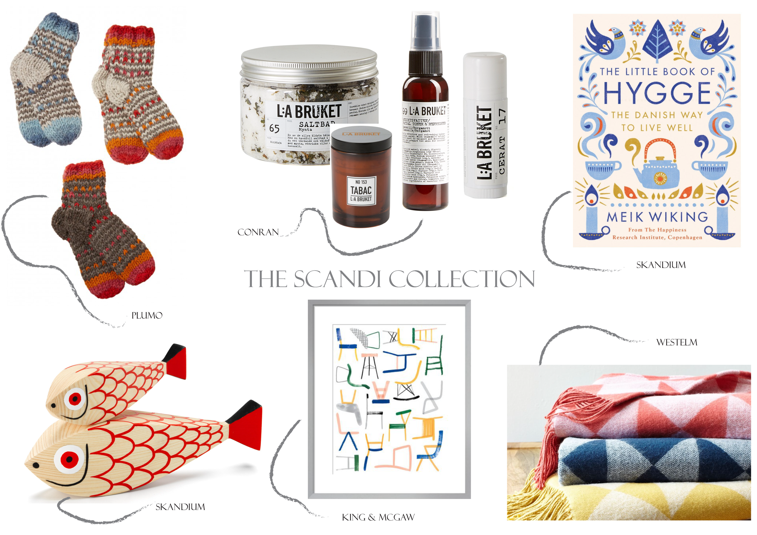 The Scandi Edit for those who love clean, simple design ....