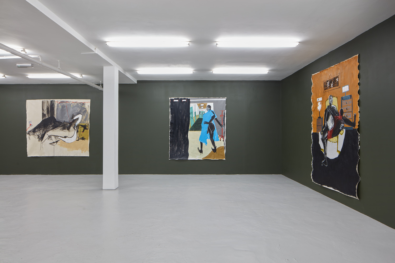 Installation view 2 Shadi Al-Atallah 'Fuck, I'm stuck!' J HAMMOND PROJECTS London 2019 low res.jpg