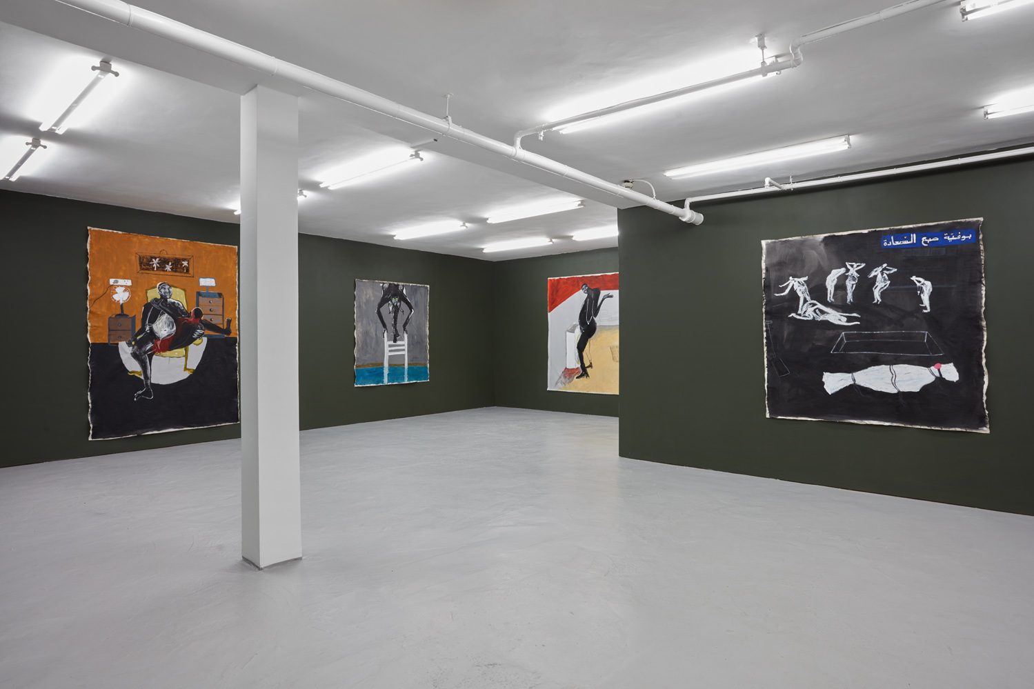 Installation view 3 Shadi Al-Atallah 'Fuck, I'm stuck!' J HAMMOND PROJECTS London 2019 low res.jpg