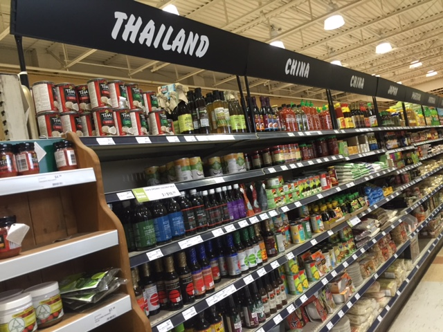 This section is by country which makes cooking so easy.