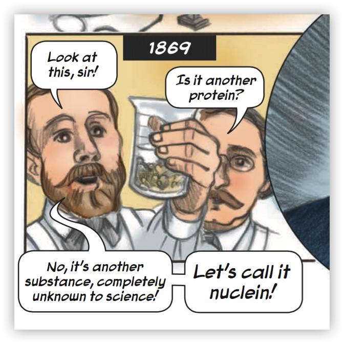 """""""Friedrich Meischer: The First Man to See DNA"""""""