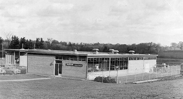 Varian Associates in 1960.