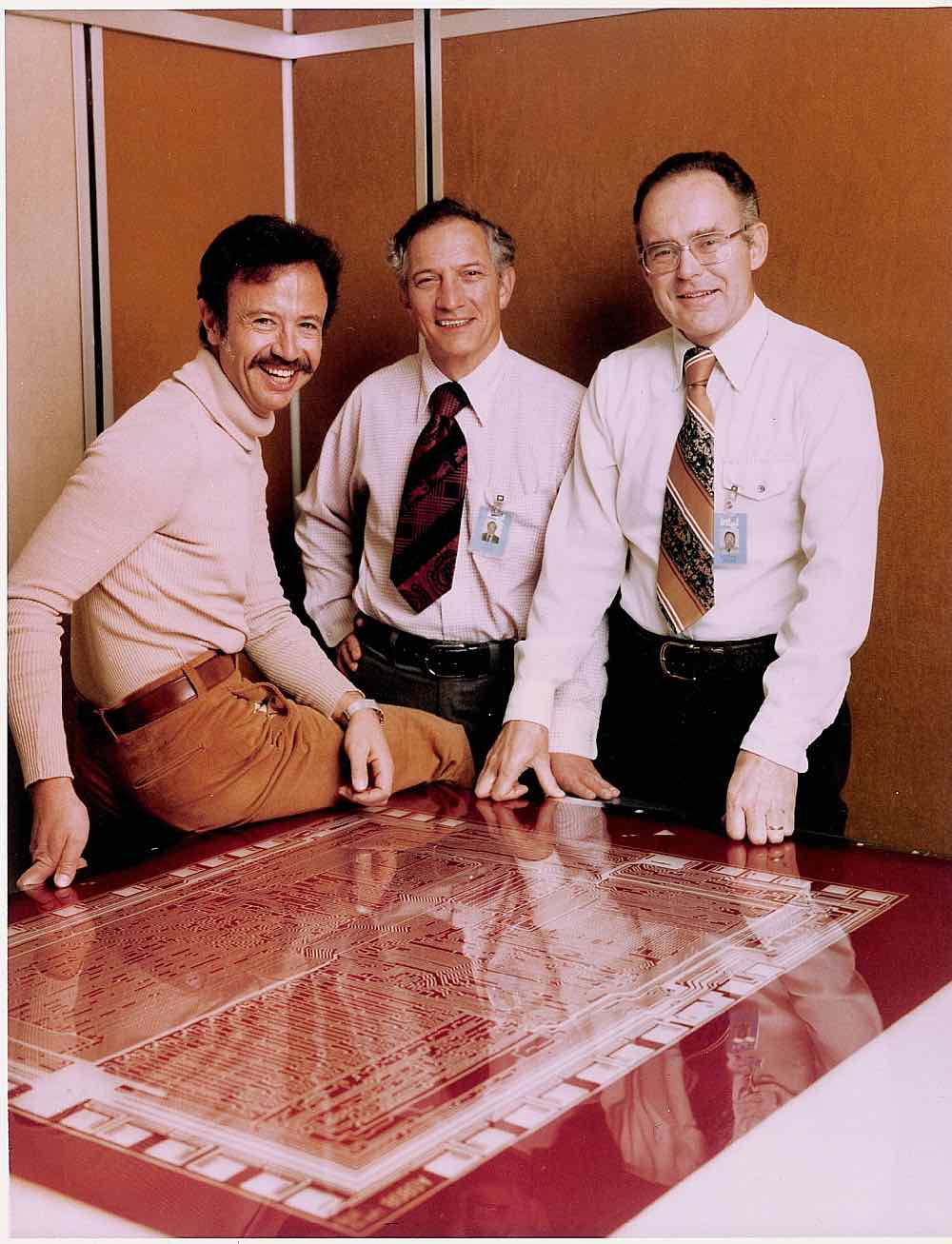 Andy Grove, Robert Noyce, and Gordon Moore