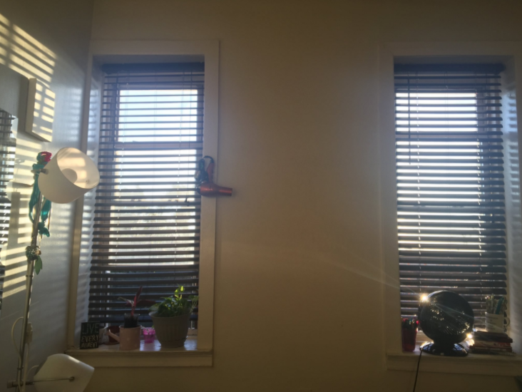 My photo. Don't get my OCD started on these lopsided windows -__-