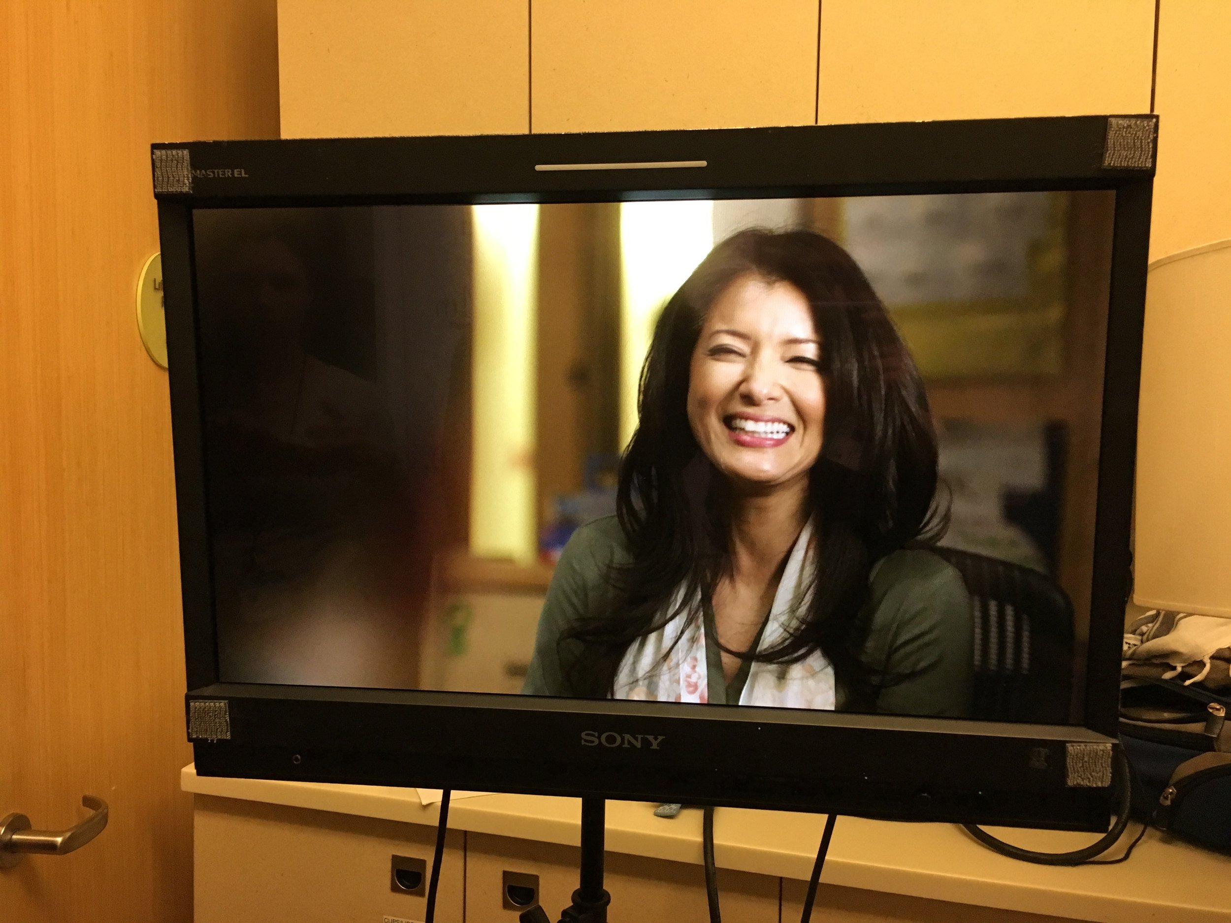 KELLY HU as Dr. Susan in  Lucy in the Sky