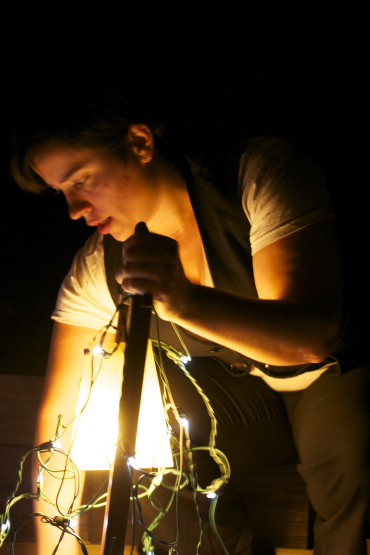 Kacey Skye Musick in BODY Play (Photo by Avram Penner)