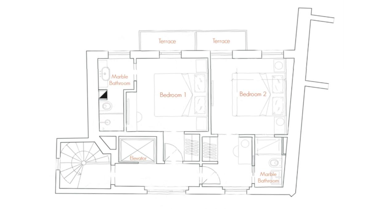 floor plan - first floor - villa erta canina.png