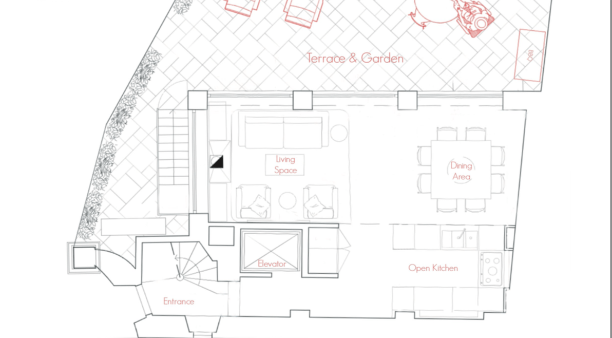 floor plan - ground floor - villa erta canina.png
