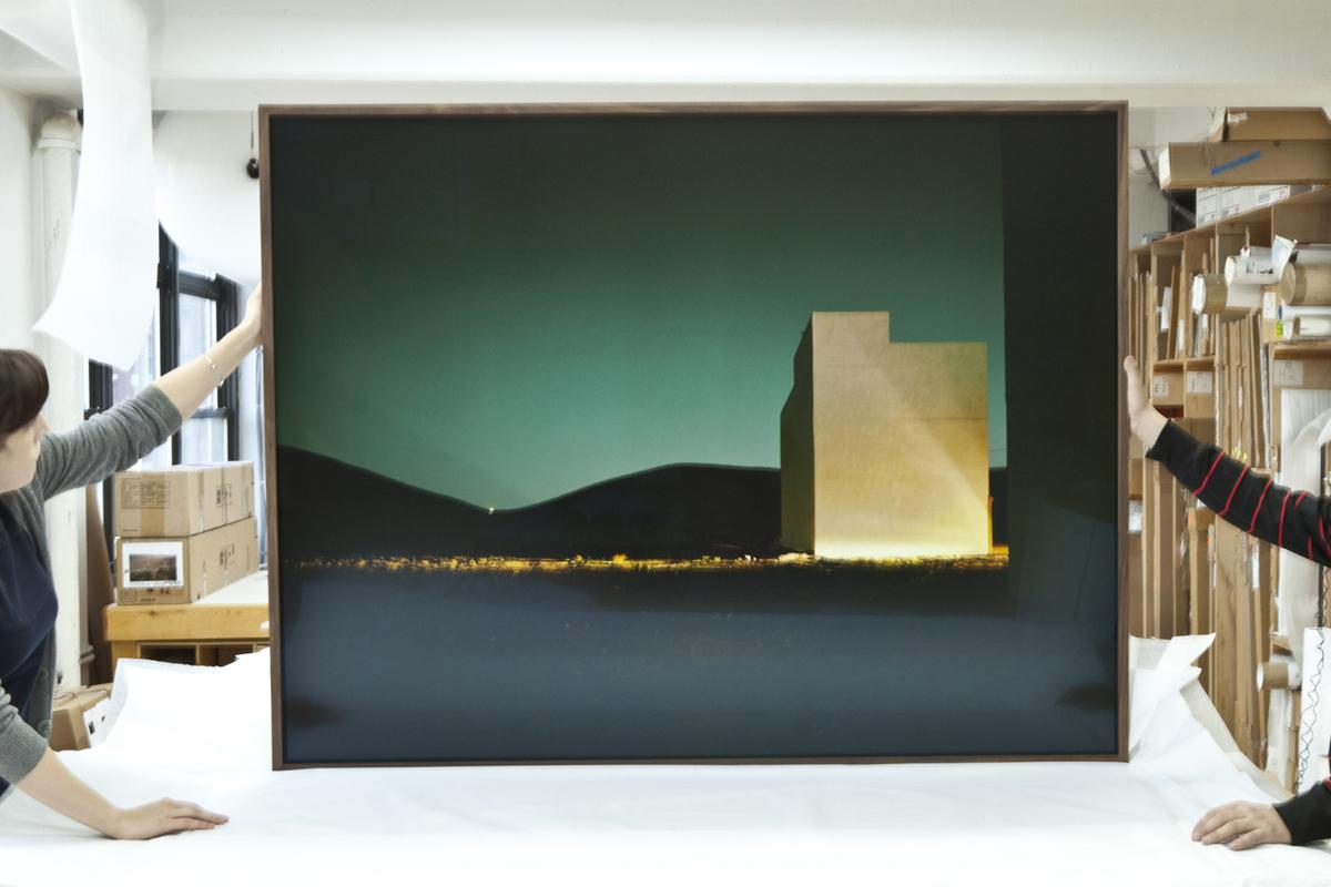 gerald forster - south of morocco - framed
