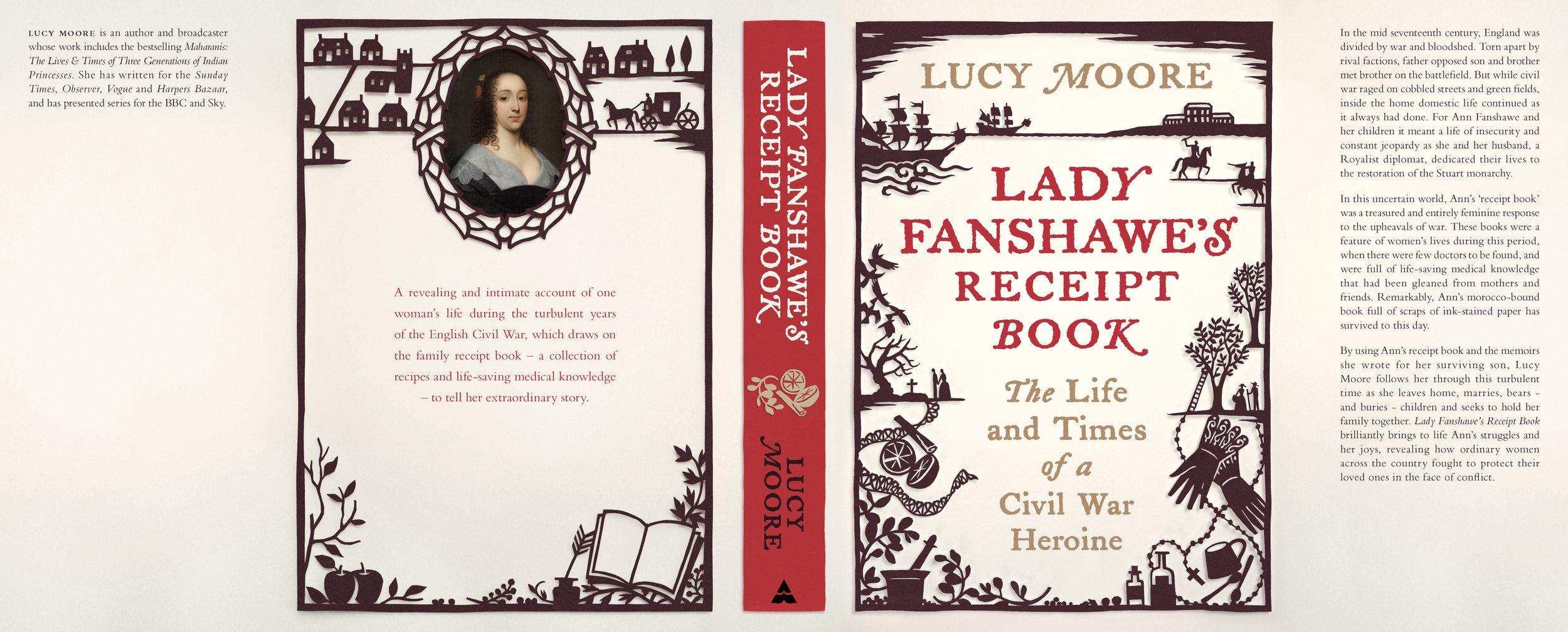 Lady Fanshawe's Receipt Book full cover.jpg