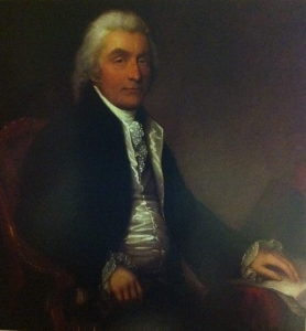 Sir John Wentworth (Lieutenant-Governor of Nova Scotia, 1792-1808) was one of the first major supporters of a Shubenacadie Canal.