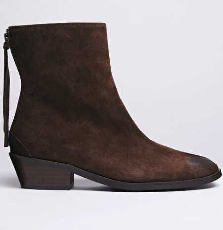 ANONYMOUS Copenhagen Sacha brown suede - £215