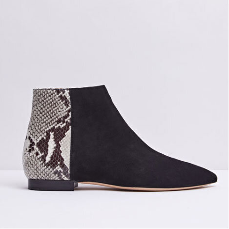 Be an animal - These gorgeous on-point ankle boots are lovingly handmade with the highest quality nappa leather. Incredibly comfortable and easy to wear, you can pair them with almost anything in your wardrobe. And the snake print adds a little va va voom to those dull weather days. TARA Snake - £240