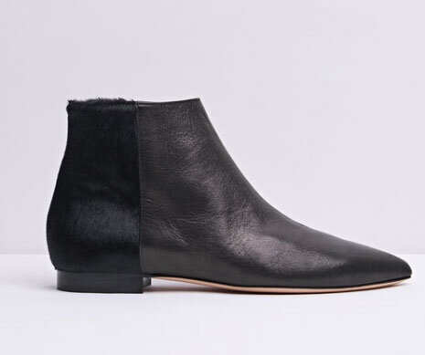 Go classic black - The classic black ankle boot will never go out of fashion. And you can't go wrong with this style. From the moment they arrived in store, we were planning what to wear with them – which is basically everything. They really are the ultimate classic black leather ankle boot, perfect for work or play.TARA black pony - £240