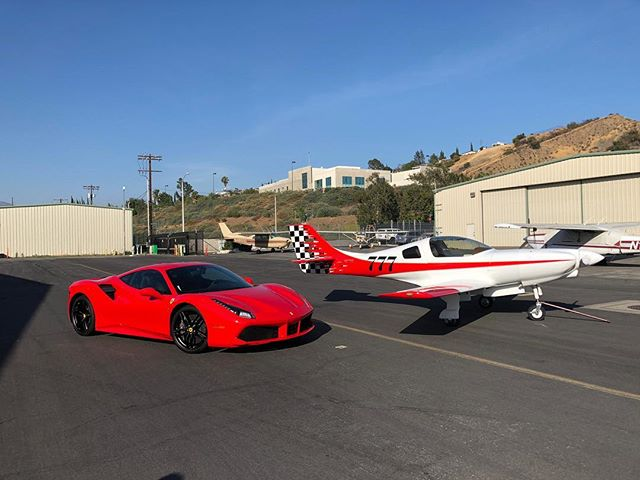 488 GTB with @opticoat and a Lancair 360 with @opticoat which one do you think is faster??