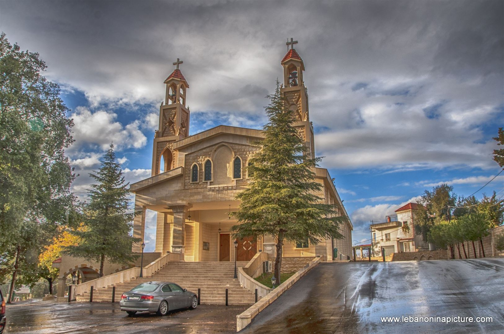 Saint Sarkis & Bakhos Church, Zaaitra, Lebanon.jpg