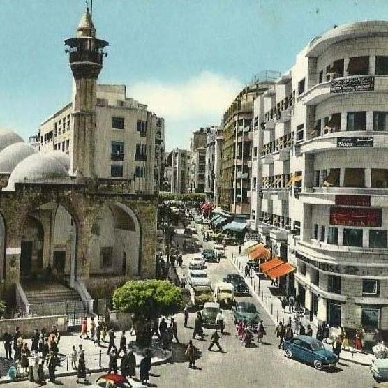 Maarad Street, Beirut 1940 by  Lebretro