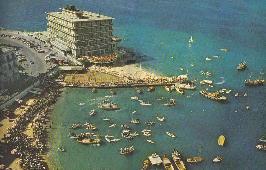 St. George Hotel in the Early 1950's, by  lebretro