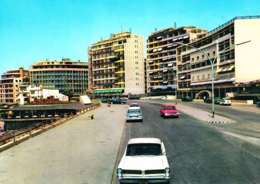 Raoushe in the Early 1950's, by  lebretro