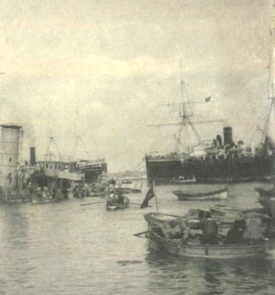 Italian Shelling of Beirut 1912