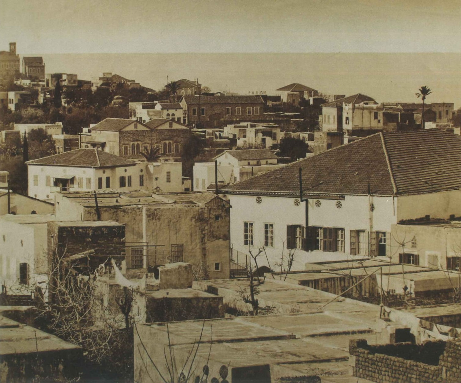 Cleamanceau-Ras Beirut Omar Daouk Street 1895.jpg