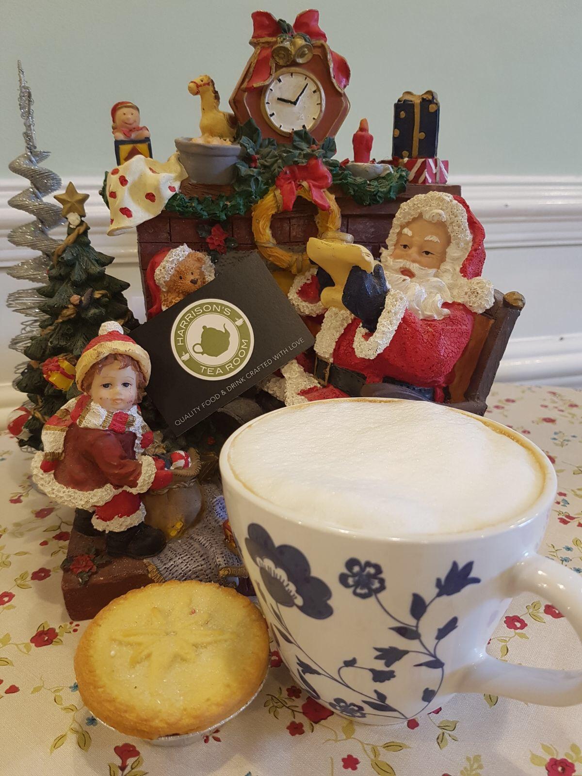 christmas at harrisons tea room.JPG