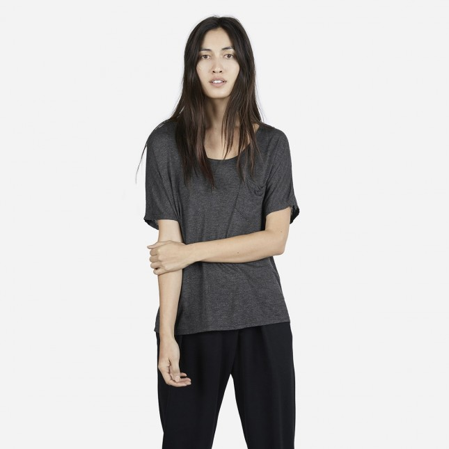 "EVERLANE   // UK    The mission: ""Radical transparency. Know your factories. Know your costs. Always ask why.""    Visit them."