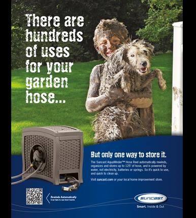 Suncast Garden Hose Mud Boy with Dog