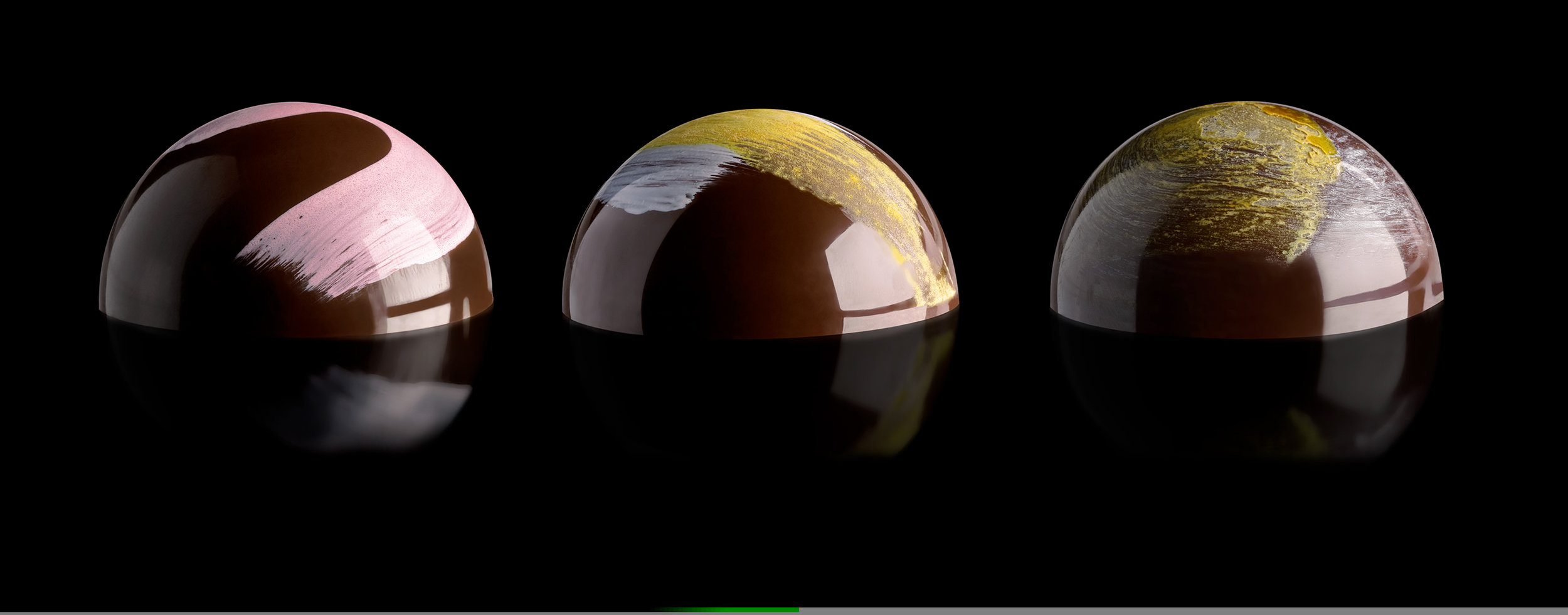 Chocolate Bon Bons with Reflection