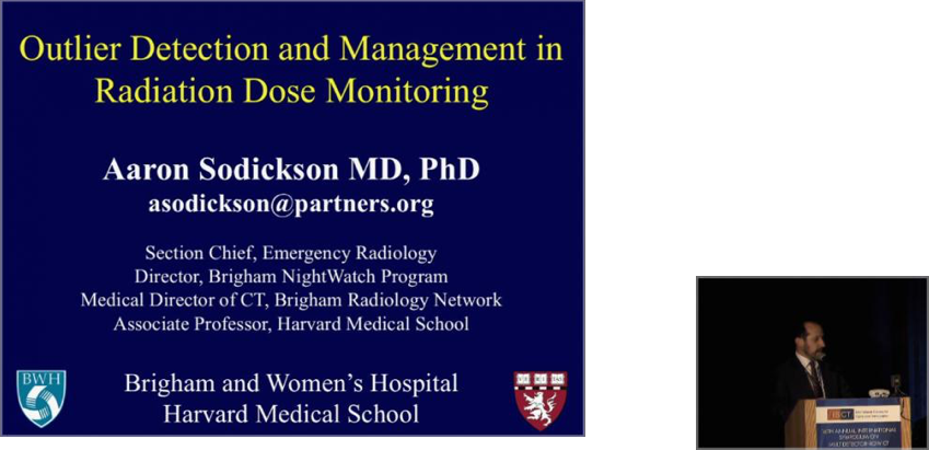 Outlier Detection and Management in Radiation Dose Monitoring