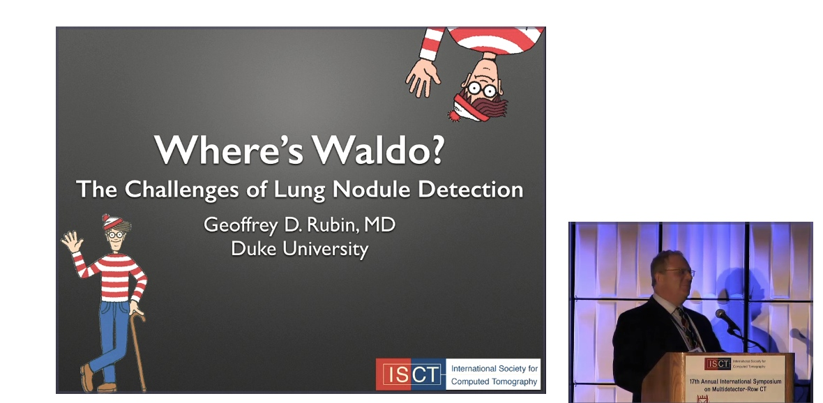 Where's Waldo? The Challenges of Lung Nodule Detection