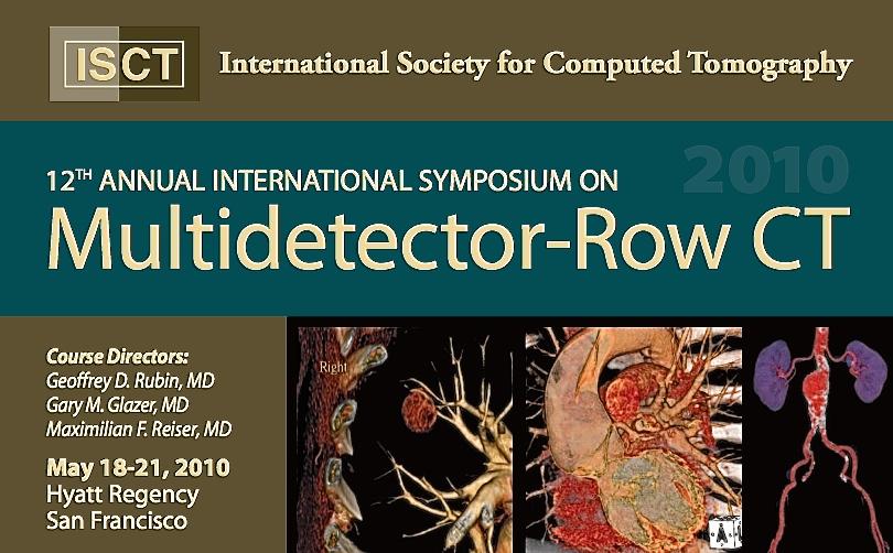 12th MDCT Symposium   2010