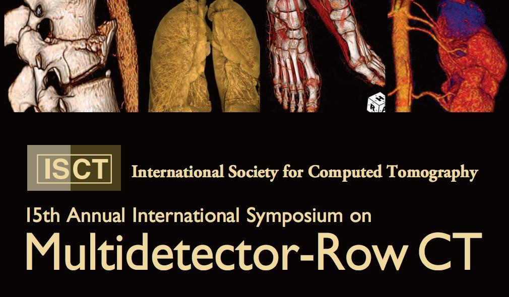 15th MDCT Symposium   2013