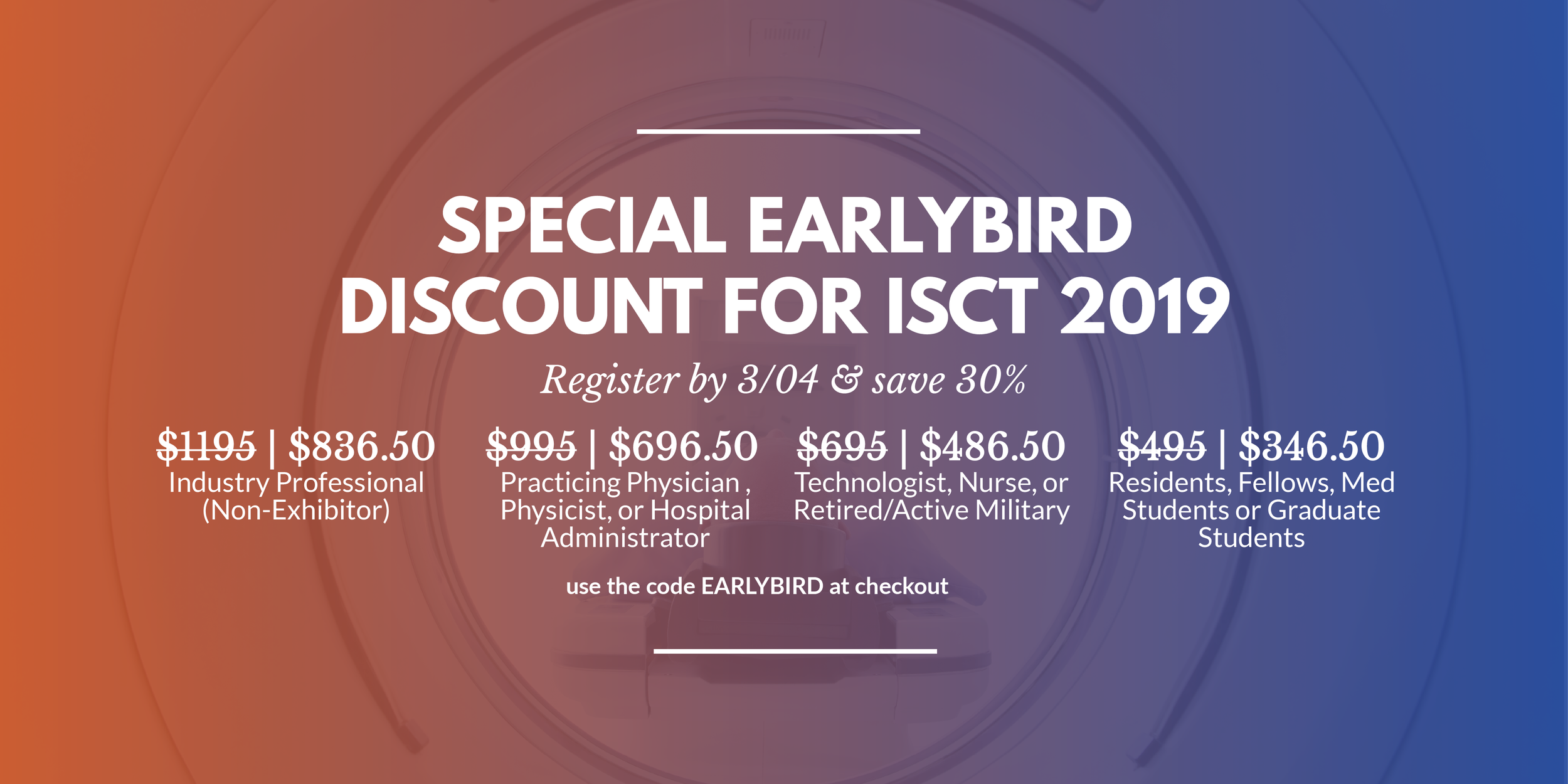 ISCT 2019, CT symposium, CT conference, radiology conference