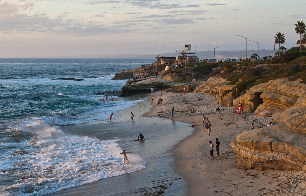 Catch some waves at La Jolla
