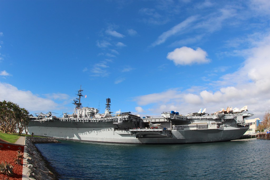 Visit the USS Midway Museum for a piece of history