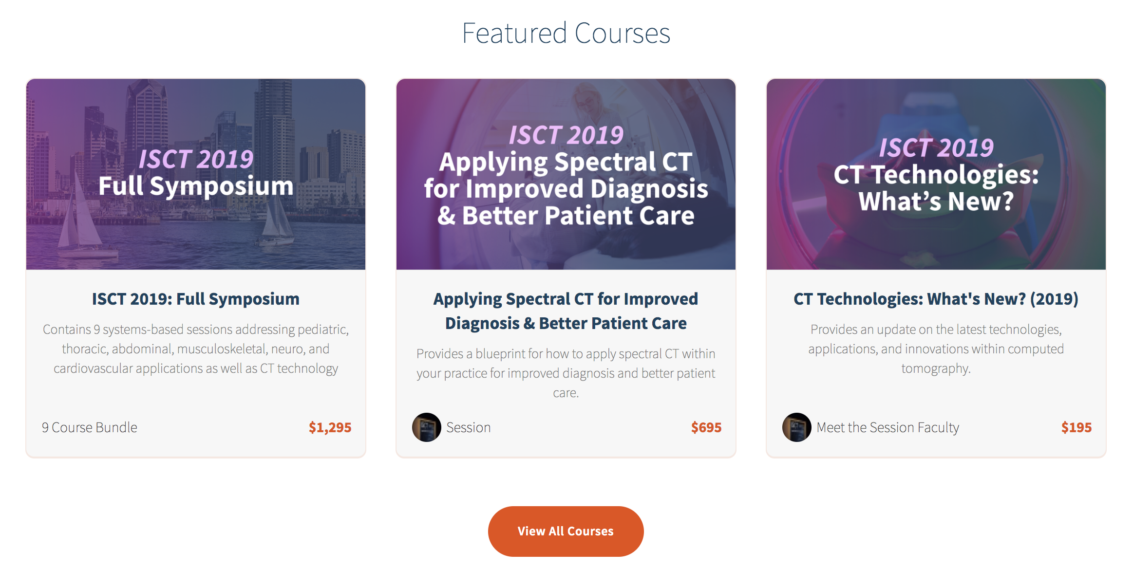 ISCT ondemand, radiology courses, radiology CME, CT CME, CT classes, online CME courses