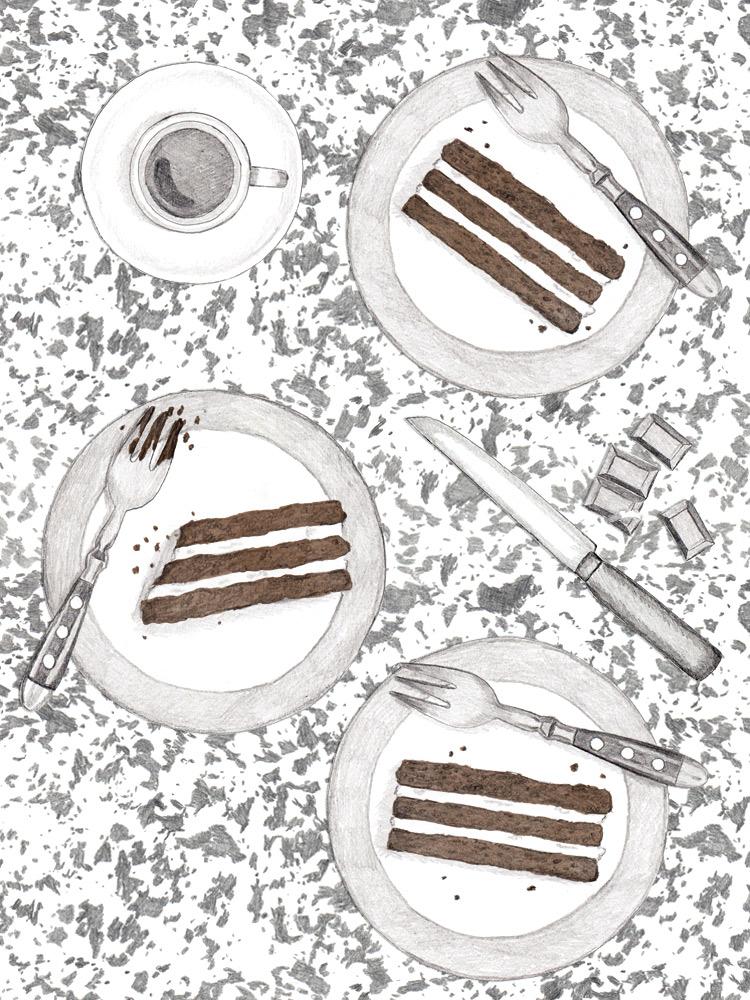 Selbstgemachte Milchschnitte. Einfaches Rezept zum Nachbacken.New Cakes On The Block. Foodblog
