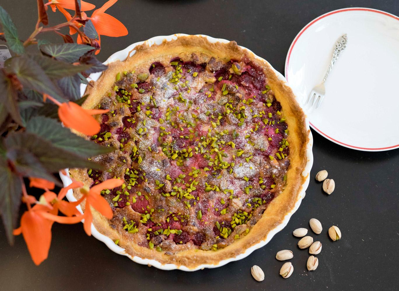 Amerikanischer Beeren Pie. Einfache Kuchen Rezepte. Schnelle und einfache Kuchenrezepte