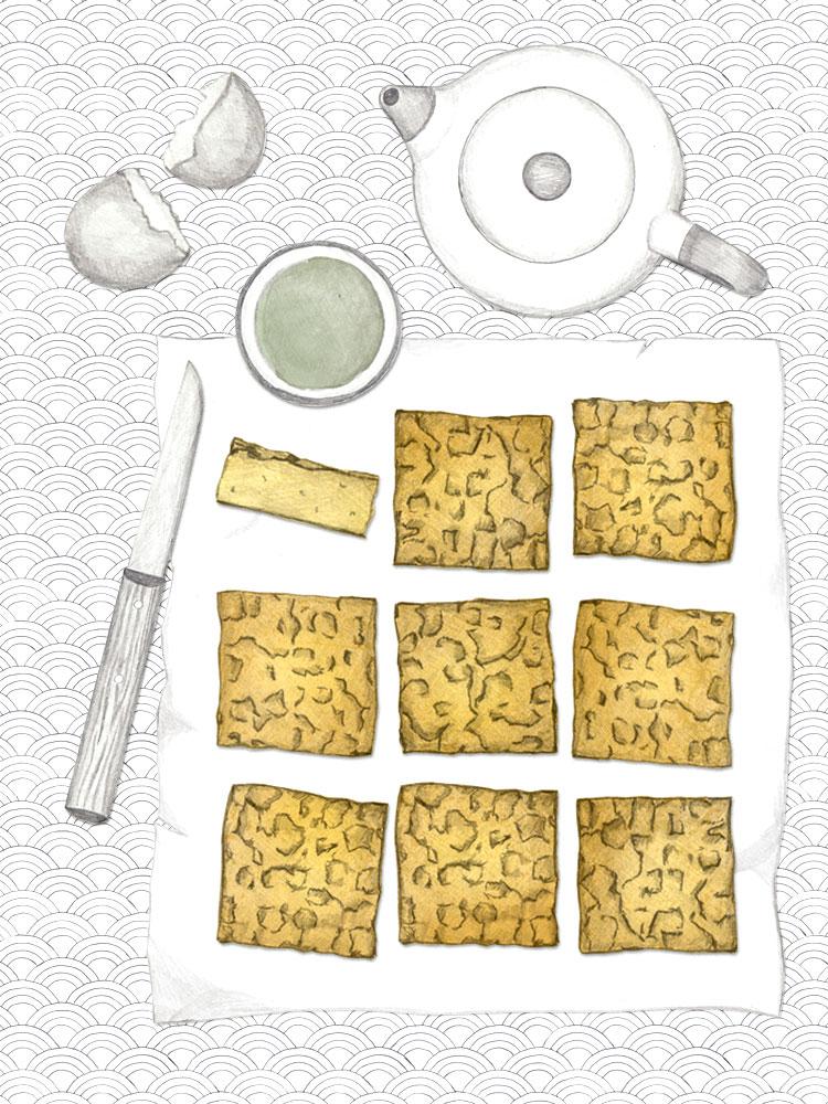glutenfreier Mochi Kuchen. glutenfrei backen. ohne Mixer backen. New Cakes On The Block.