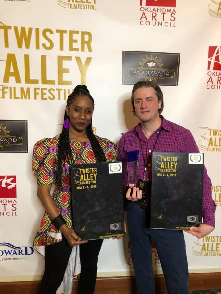 Celeste M. Cooper wins Best Acctress