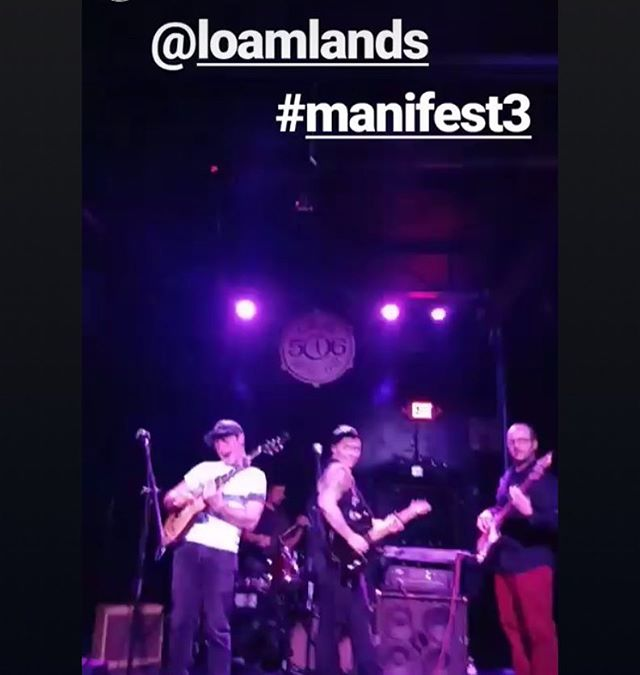 Thank u @manifestmusicfestival for catching my sass back and throwing an amazing festival