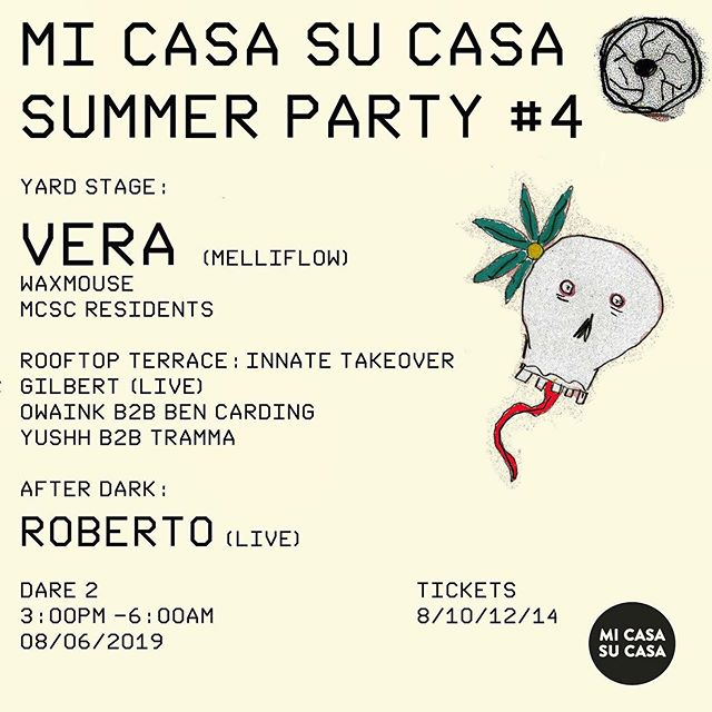 Can't wait for this on the #weekend 🤞the weather is #sunny #techno #weekend @veragoesdeep @roberto_fossil_archive @_tramma @inn8media @davebainuk 🙌🏼🔊🔊😎🌞