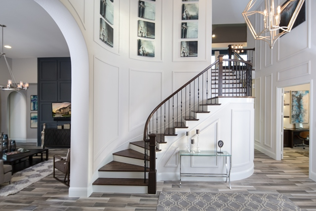 Dramatic Entryway | Linfield Design