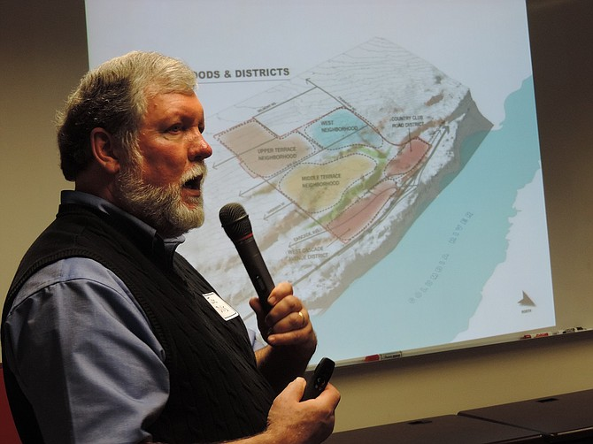 Consultant Joe Dills of Angelo Planning Group