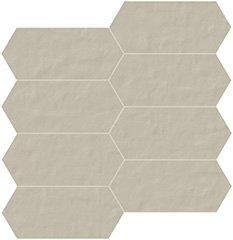 02 polvere naturale  mosaico trapezio 7,5x15 cm