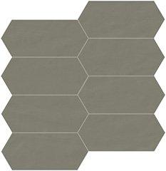 05 quarzo naturale  mosaico trapezio 7,5x15 cm