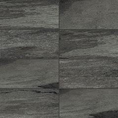 Black matte  modulo muretto 7,5x15 30x30 cm